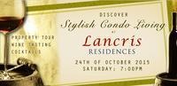 Lancris Residences Holds Wine Tasting Event on October 24
